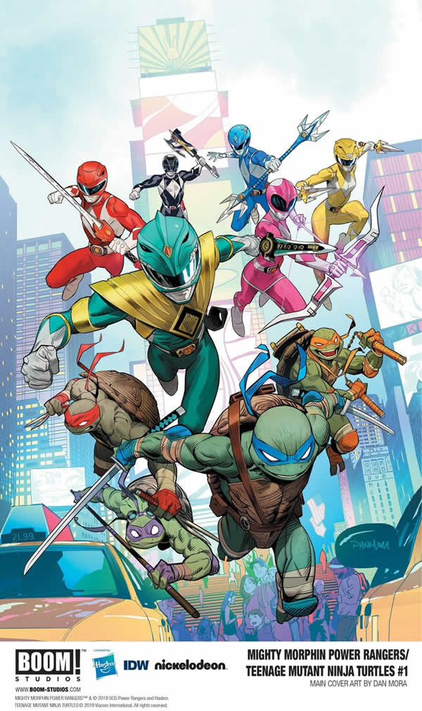 Power Rangers e Tartarughe Ninja