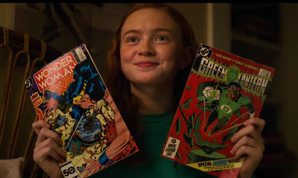 Stranger Things 3 i due fumetti della DC
