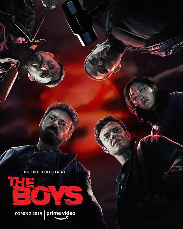 The Boys poster stagione 1