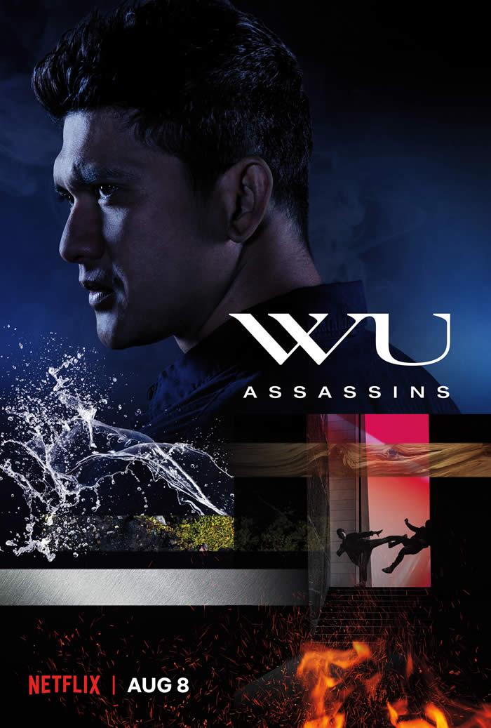 Wu Assassins poster Netflix