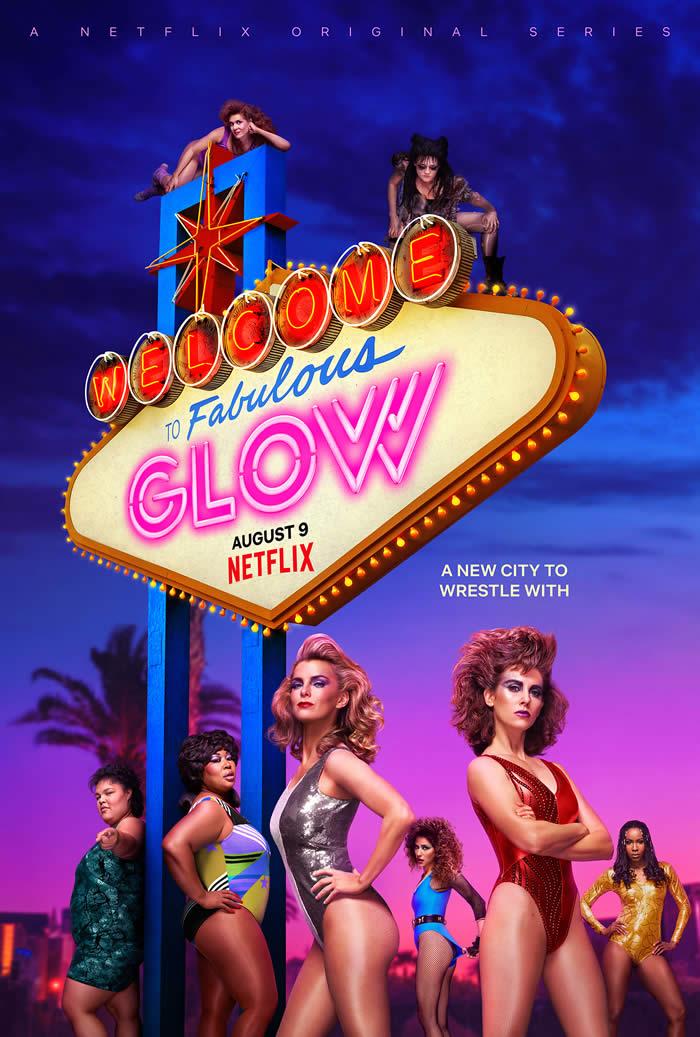 GLOW stagione 3 poster Netflix