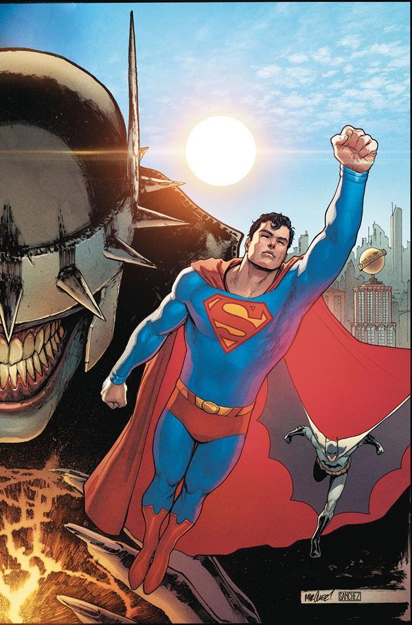Batman Superman 1 cover Superman