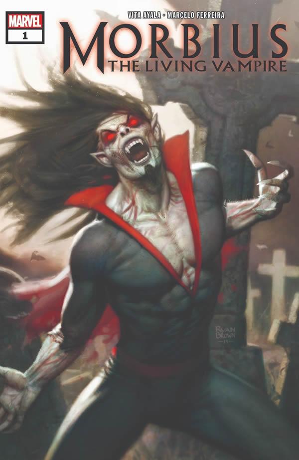 marvel morbius nuova serie a fumetti
