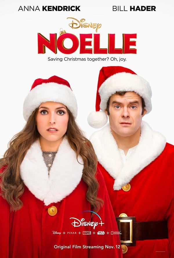 Noelle - il poster del film per Disney+
