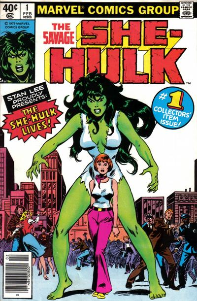 She-Hulk covers: Buscema