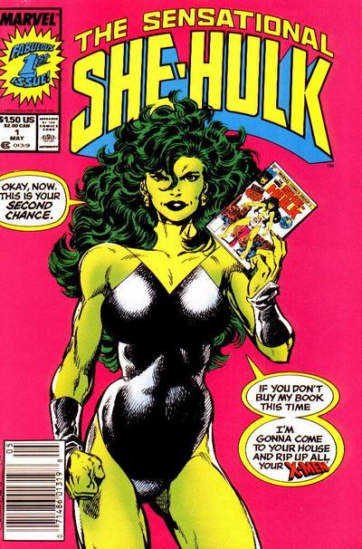 She-Hulk covers: Byrne