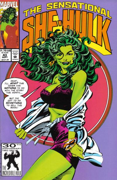 She-Hulk covers: Byrne