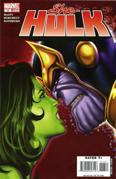 She-Hulk covers: Thanos