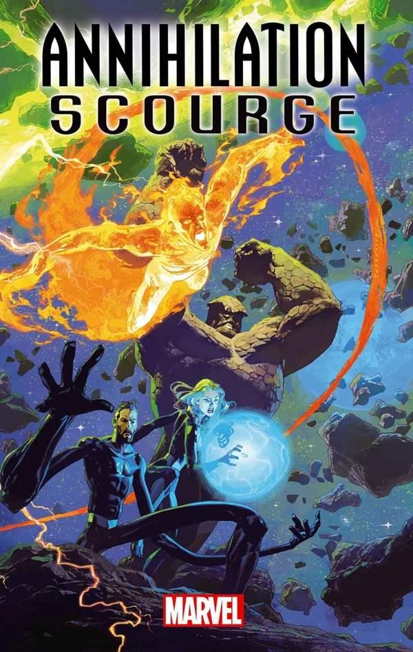 Annihilation Scourge Fantastic Four#1