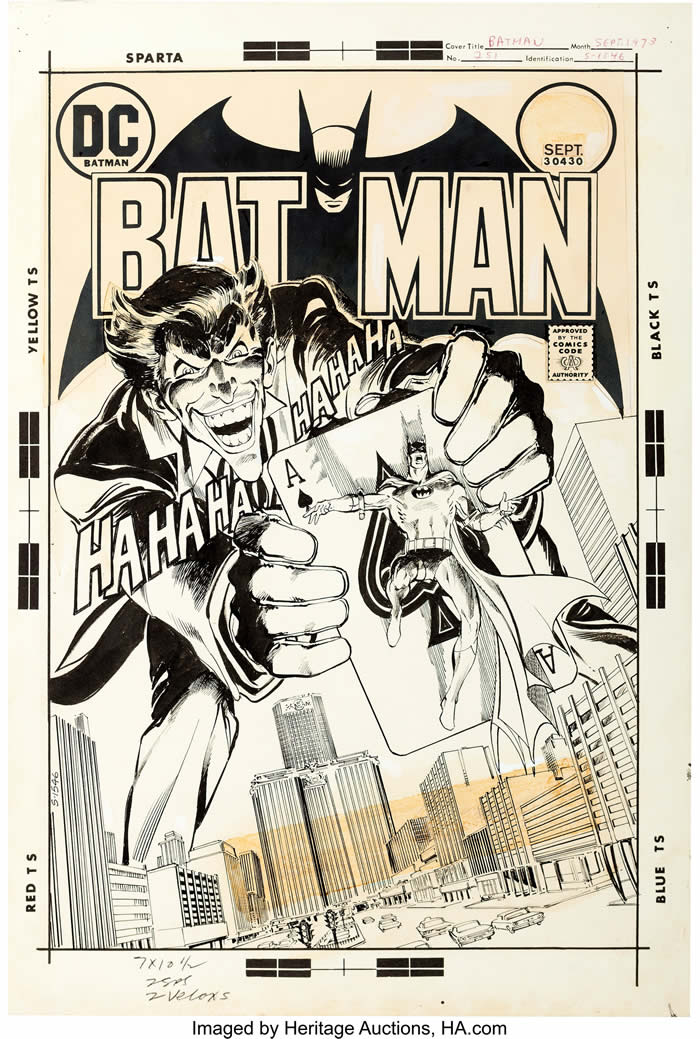 Neal Adams e la celebre cover di Batman 251
