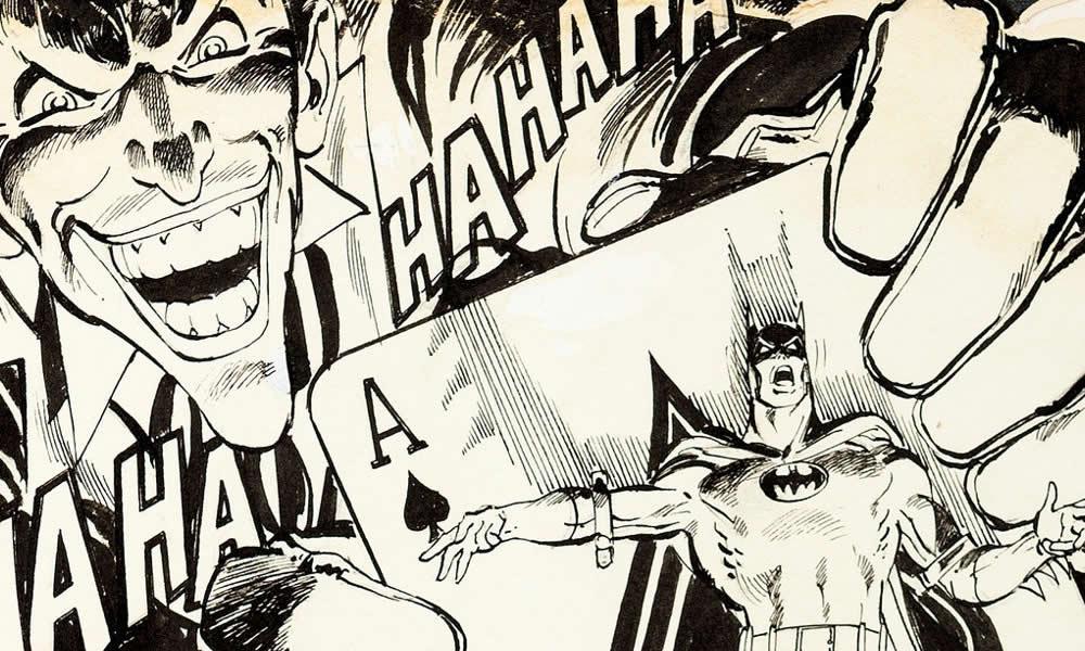 Neal Adams, dettaglio cover di Batman 251