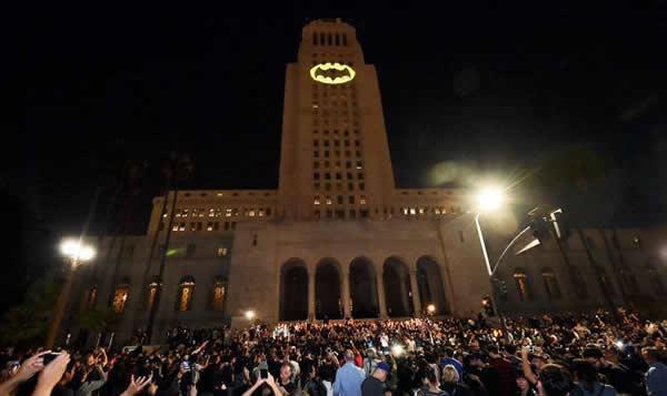 Bat-Segnale a Los Angeles