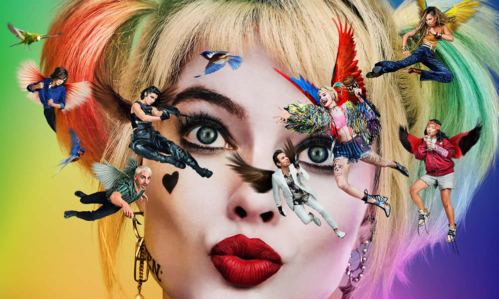 Birds of Prey poster film