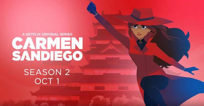 Carmen Sandiego stagione