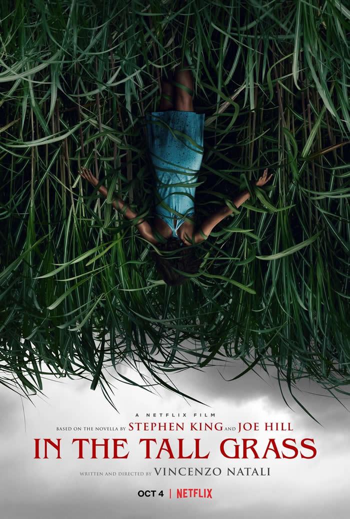 Nell'Erba Alta Netflix locandina Stephen King