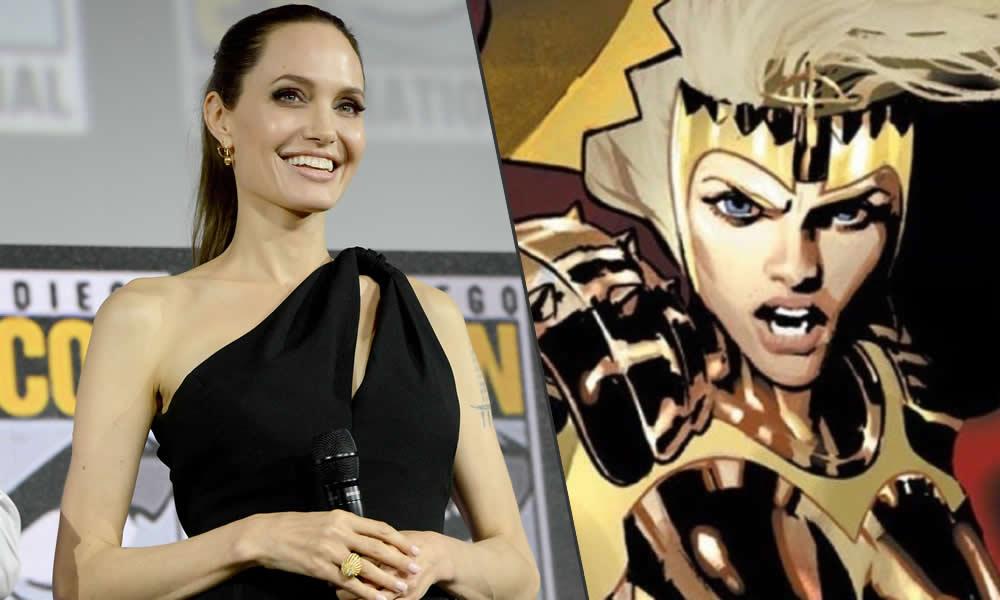 Eternals, Angelina Jolie nel ruolo di Thena