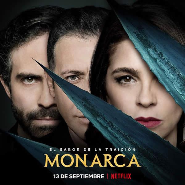 Monarca Netflix Poster
