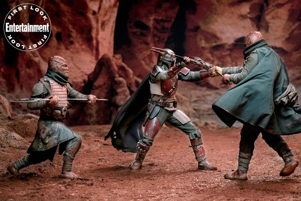The Mandalorian: nuova foto della serie Star Wars