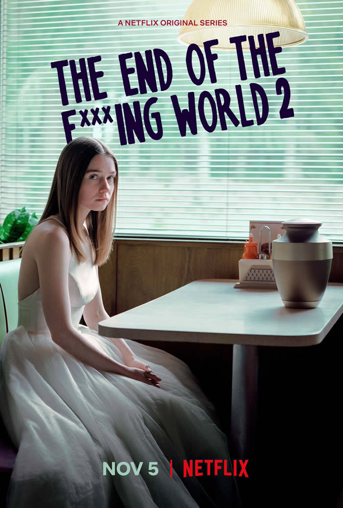 The End of the F***ing World stagione 2 - Poster