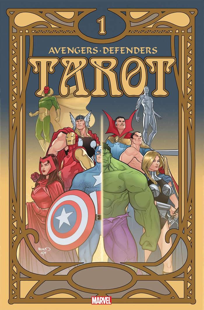 Avengers e Defenders assieme in Tarot