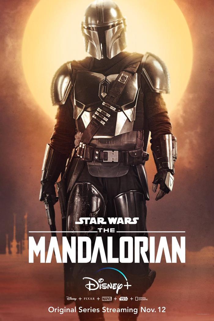 The Mandalorian serie Star Wars