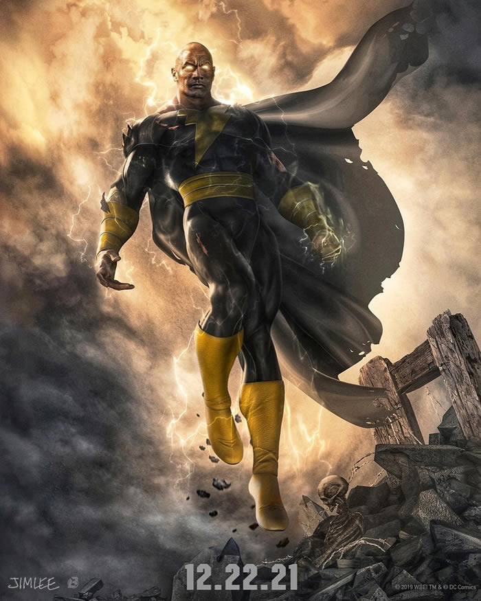 Black Adam il film con The Rock