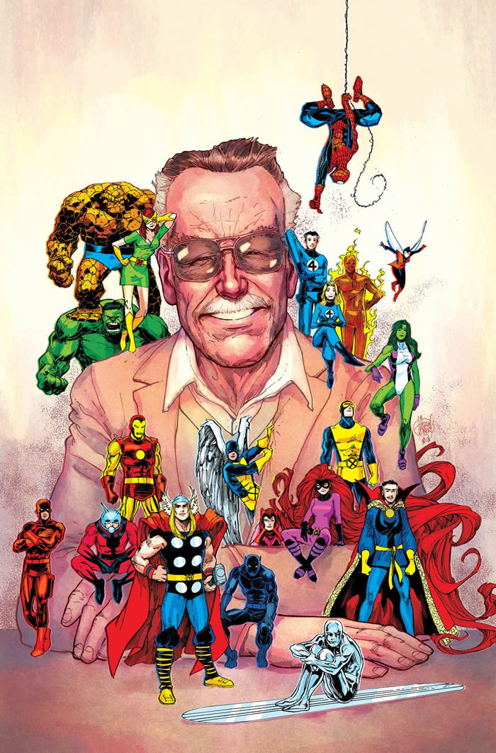 La Marvel ricorda Stan Lee