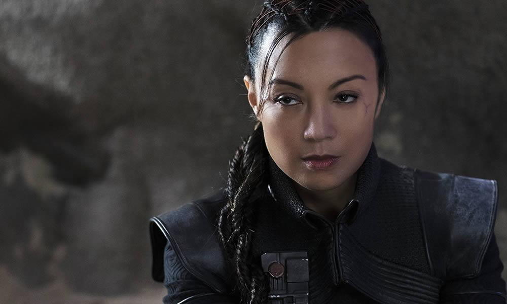 Ming-Na Wen è Fennec Shand in The Mandalorian