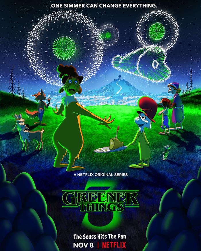 Prosciutto e Uova Verdi - Poster Netflix