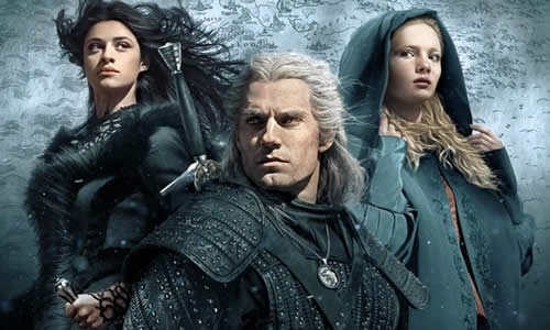 Netflix Serie tv Film Natale - The Witcher