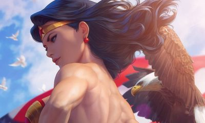 Wonder Woman Artgerm
