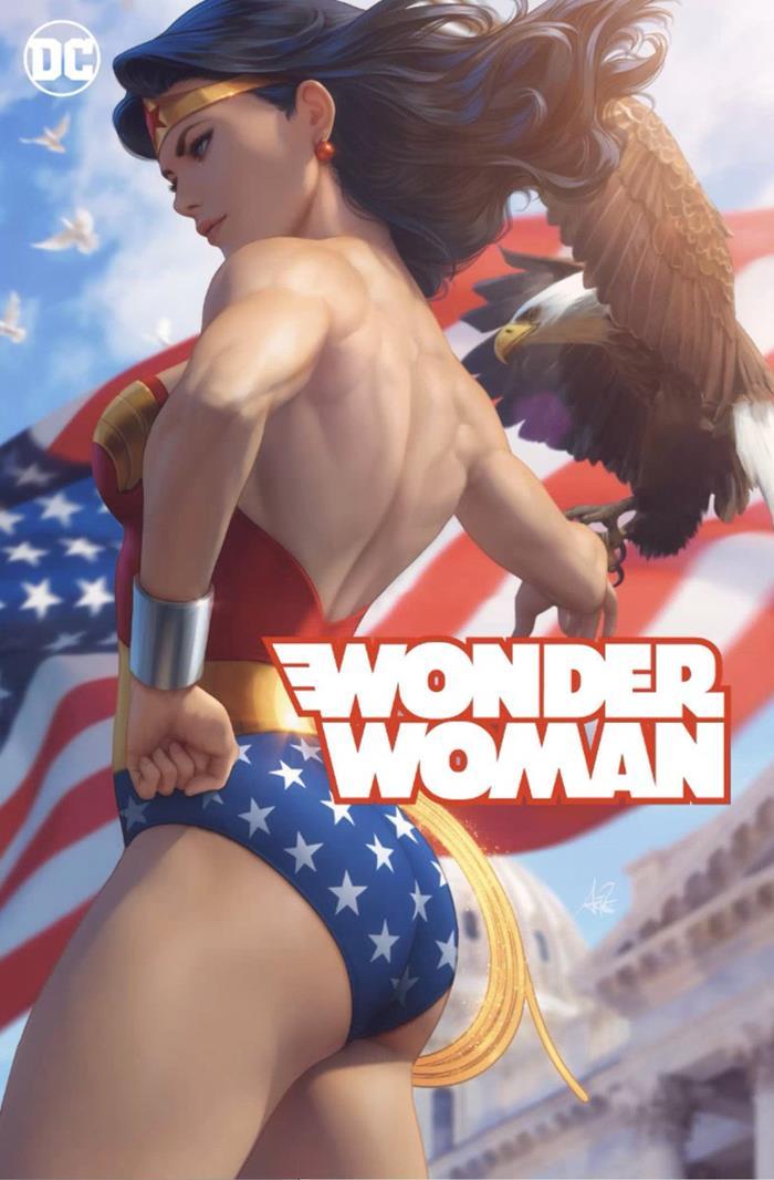 Wonder Woman Artgerm