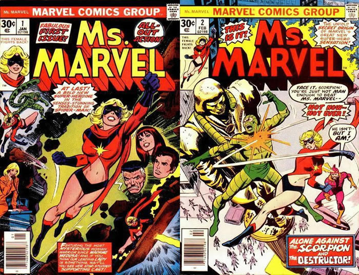 Ms. Marvel 1 e 2