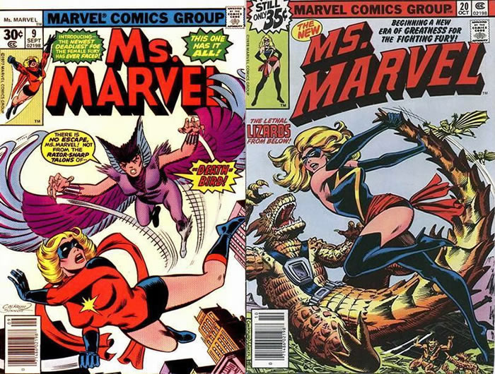 Ms. Marvel 9 e 20