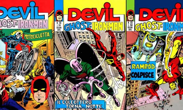 Devil-Ghost-Iron Man