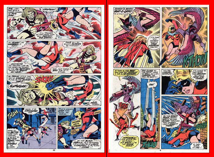 Pagine degli interni di Ms. Marvel 8 e 9