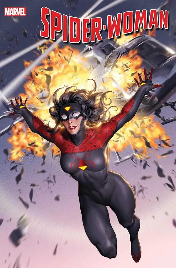Spider-Woman 1 con il nuovo costume