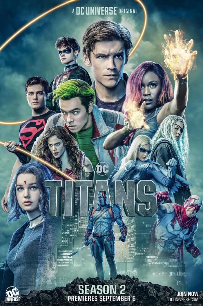 titans stagione 2