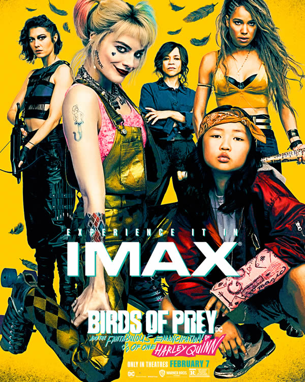 Birds of Prey poster americani - IMAX