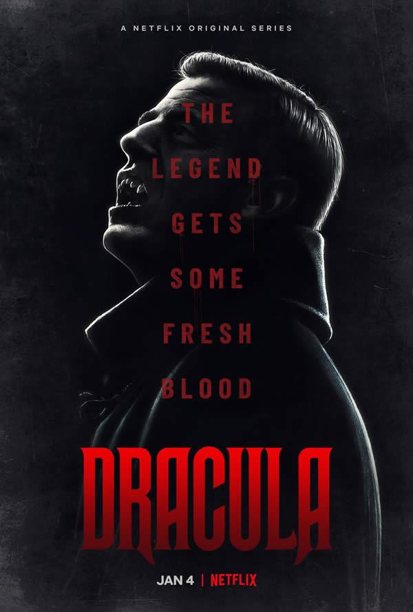 Dracula poster serie Netflix