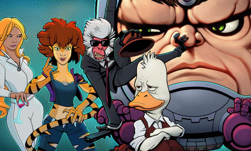 Howard The Duck, Tigraz&Dazzler e gli altri Offenders