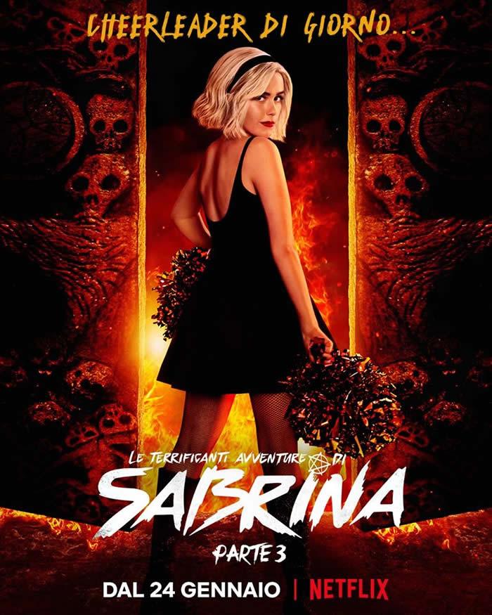 Sabrina stagione 3 - Il poster