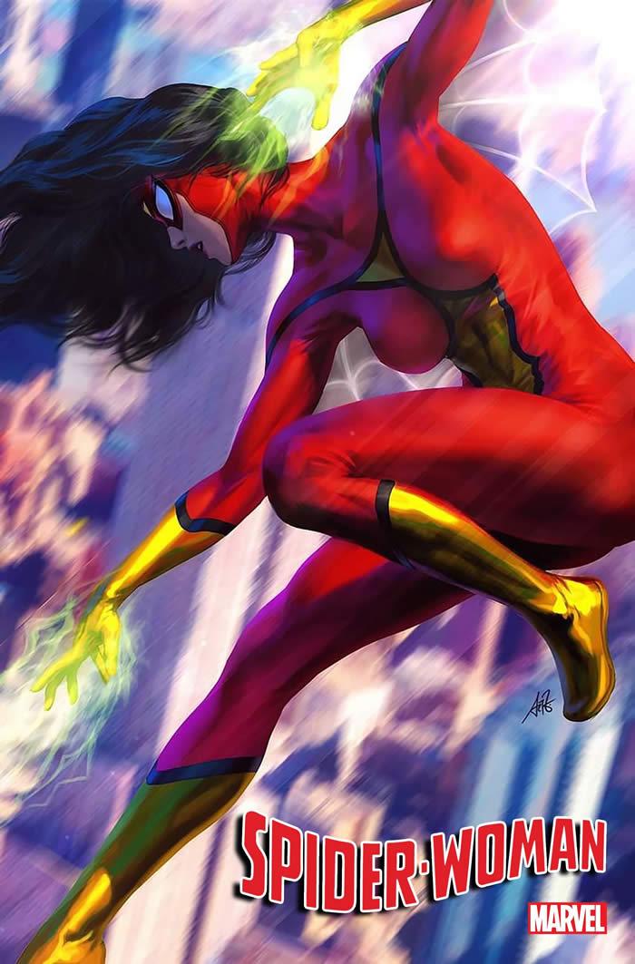 Spider-Woman costume variant Artgerm