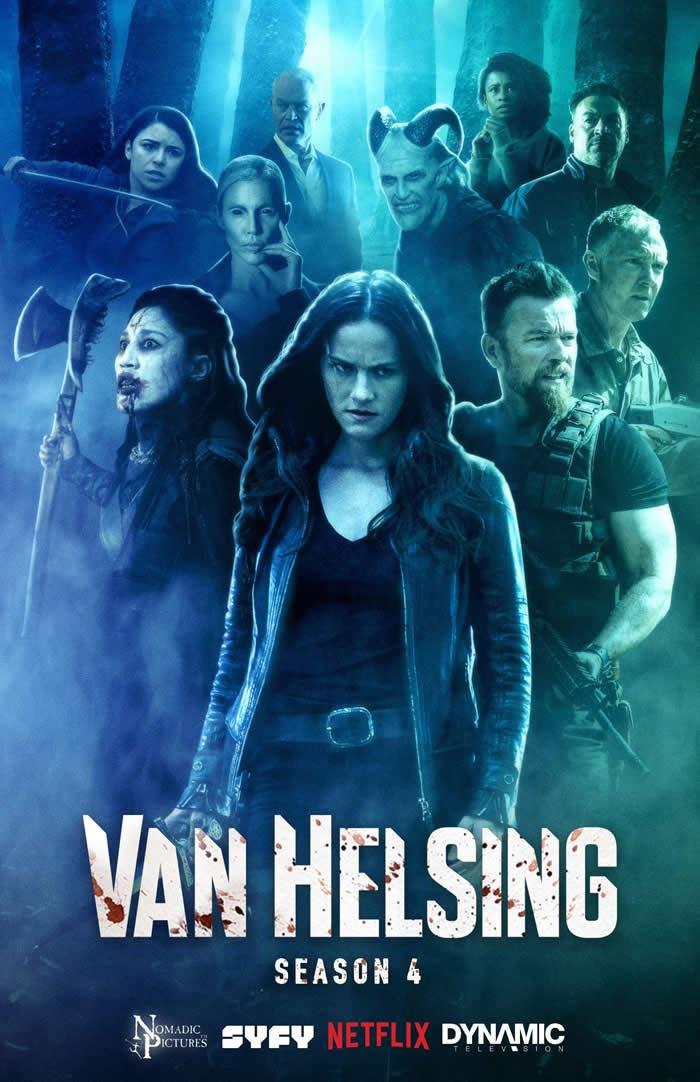 Van Helsing stagione 4 - Poster