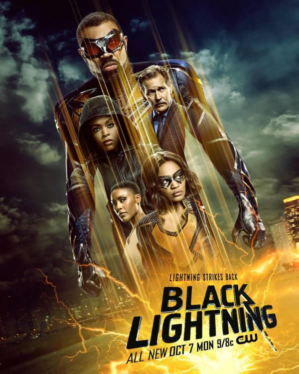 Black Lightning stagione 3 poster USA