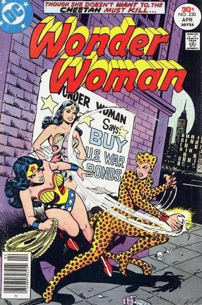 Cheetah Wonder Woman