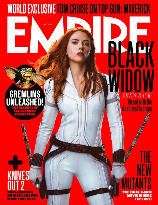 Black Widow - Empire copertina