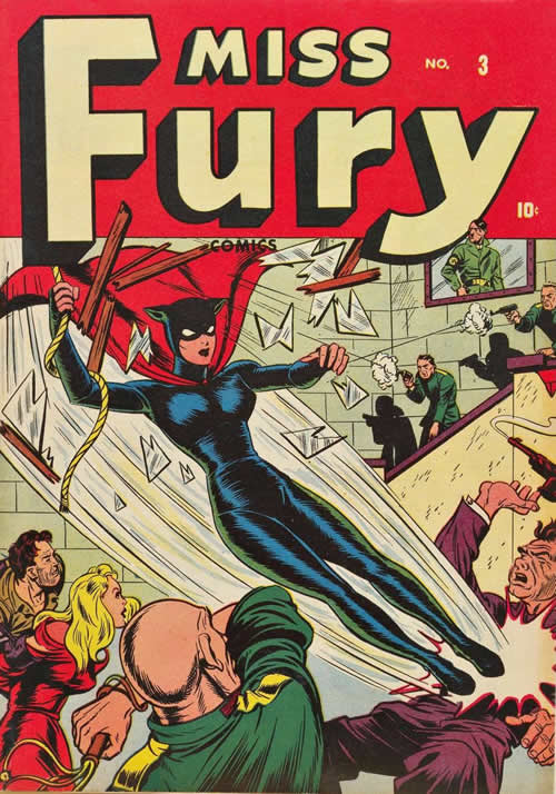 Black Widow costume: ispirato da Miss Fury