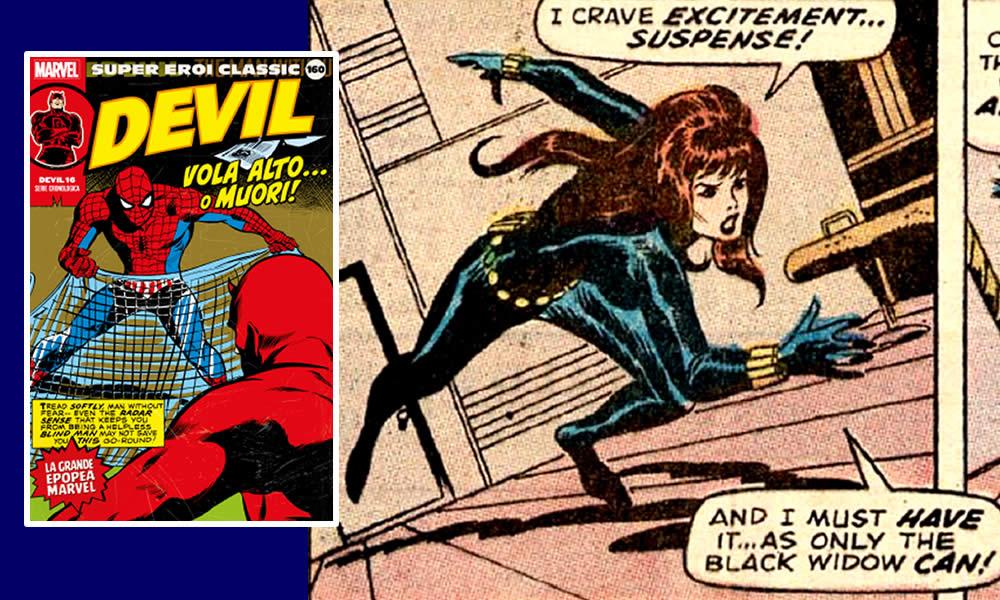 super eroi classic: la serie della vedova nera