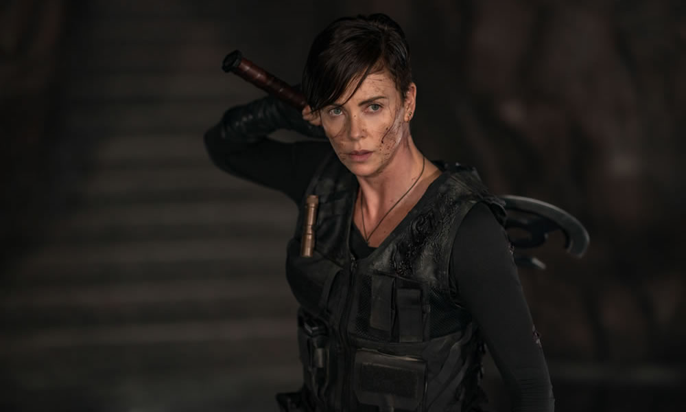 Charlize Theron in The Old Guard (Netflix)